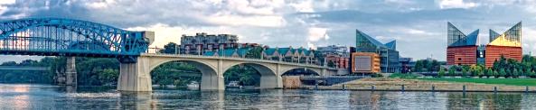Chattanooga TN bridge skyline